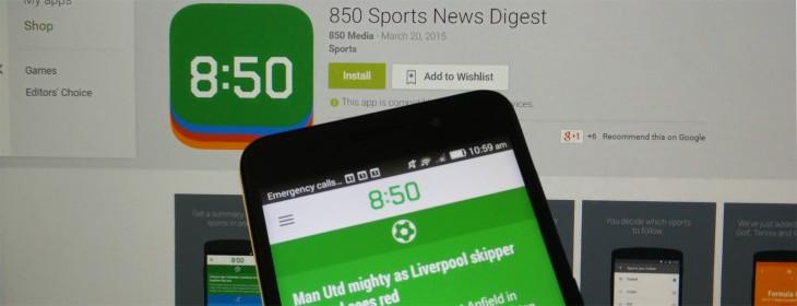 850 Sports News Digest