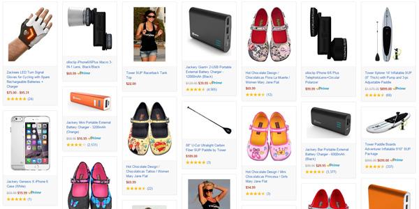 Amazon Exclusives store