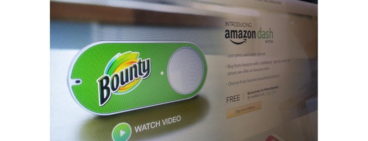 Amazon's Dash Buttons let you re-order household essentials with virtually no effort