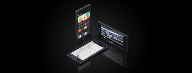 BlackBerry unveils its mid-range 4G all-touch Leap smartphone