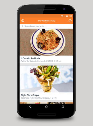 Square's Food Delivery App is Now on Android