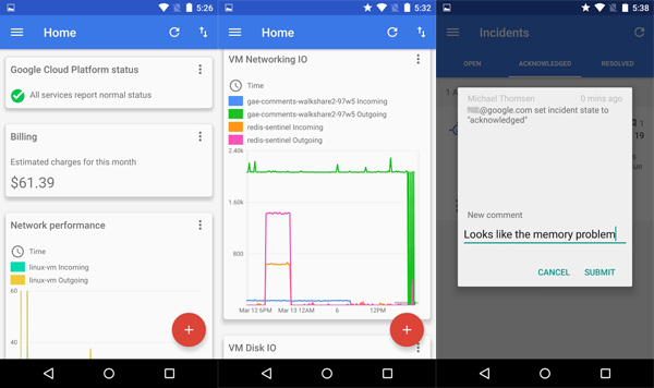 Manage your app engine projects with google cloud console android - Android console application ...