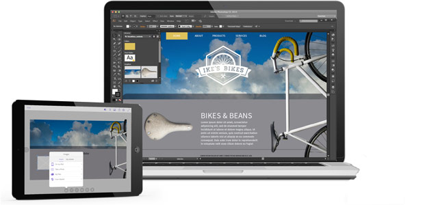 Meet Adobe Comp CC, an iPad app that lets designers execute a complete layout on-the-go