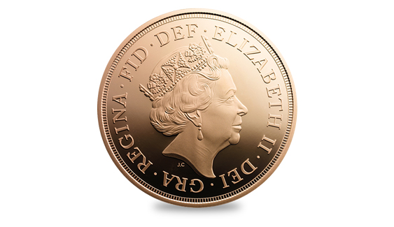 Coins of the realm: A brand new portrait of Queen Elizabeth will appear on British currency this year ...