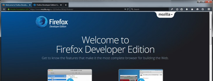 Firefox Dev Edition