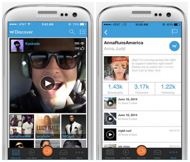 Hang w/ updates Facebook live streaming and adds in-line video player