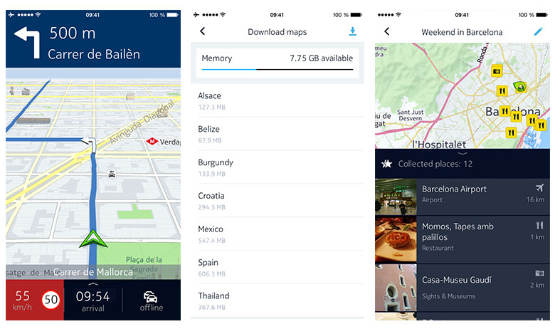 Nokia's HERE Mapping App Is Back on iOS on android offline maps, nokia offline maps, nokia here maps, windows offline maps, google offline maps,