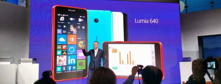Microsoft launches mid-range Lumia 640 and 640XL, arriving April