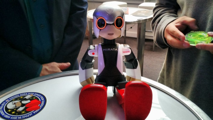 How the world's first robot astronaut is helping pave the way for the future of human-android interaction ...