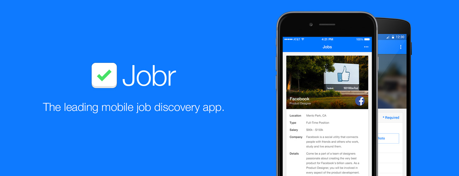 Jobr Updates its iPhone App and Launches On Android