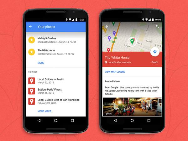 Google Maps for Android Now Lets You View Custom Maps on