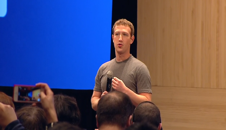 Zuckerberg: Don't expect a Facebook car