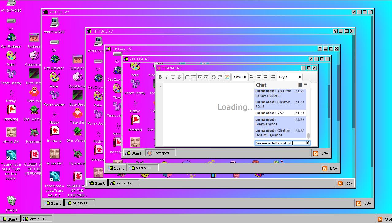 Windows 93 is Microsoft on Acid