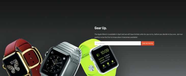 Rent the Apple Watch for $45 per week to try before you buy