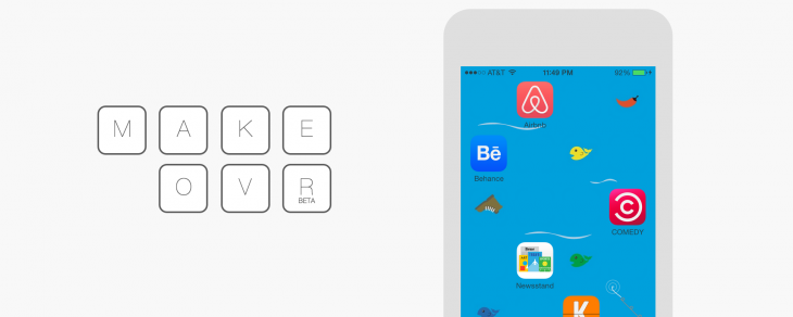 Arrange your iPhone's icons any way you want with Makeovr
