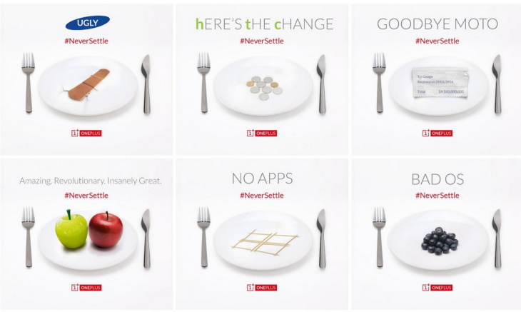 OnePlus One ads