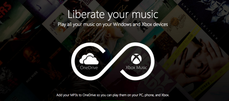 Xbox Music will now play your music stored in OneDrive