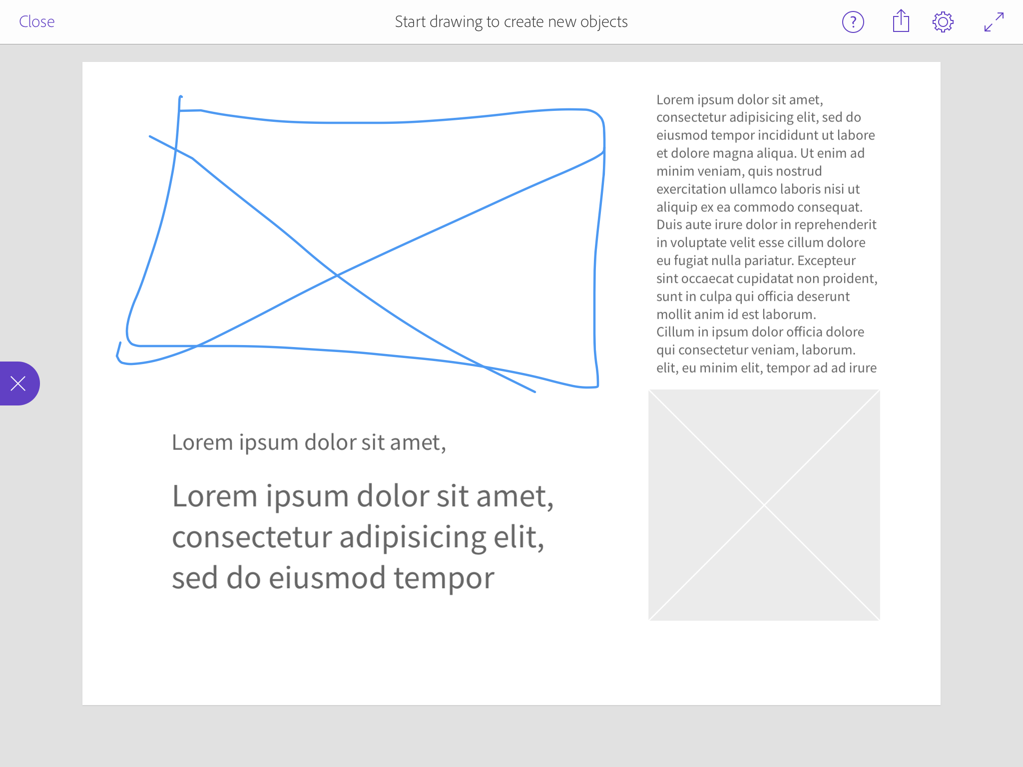 Adobe Comp Cc For Ipad Is All You Need Polished Layouts 2 Block Diagram Sketch Compcc