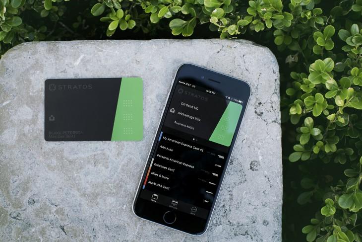 Stratos Card & App 1