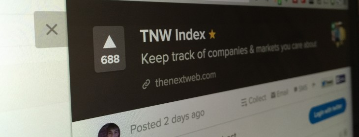 Behind the scenes: How TNW Index got featured on Product Hunt