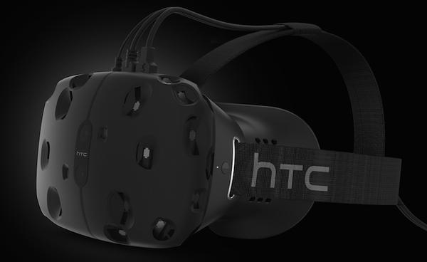 HTC partners with Valve to create the Vive VR headset for gaming