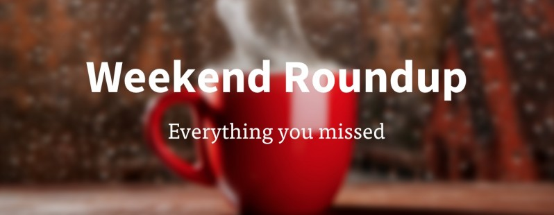Offline over the weekend? Read all the tech news you missed right here