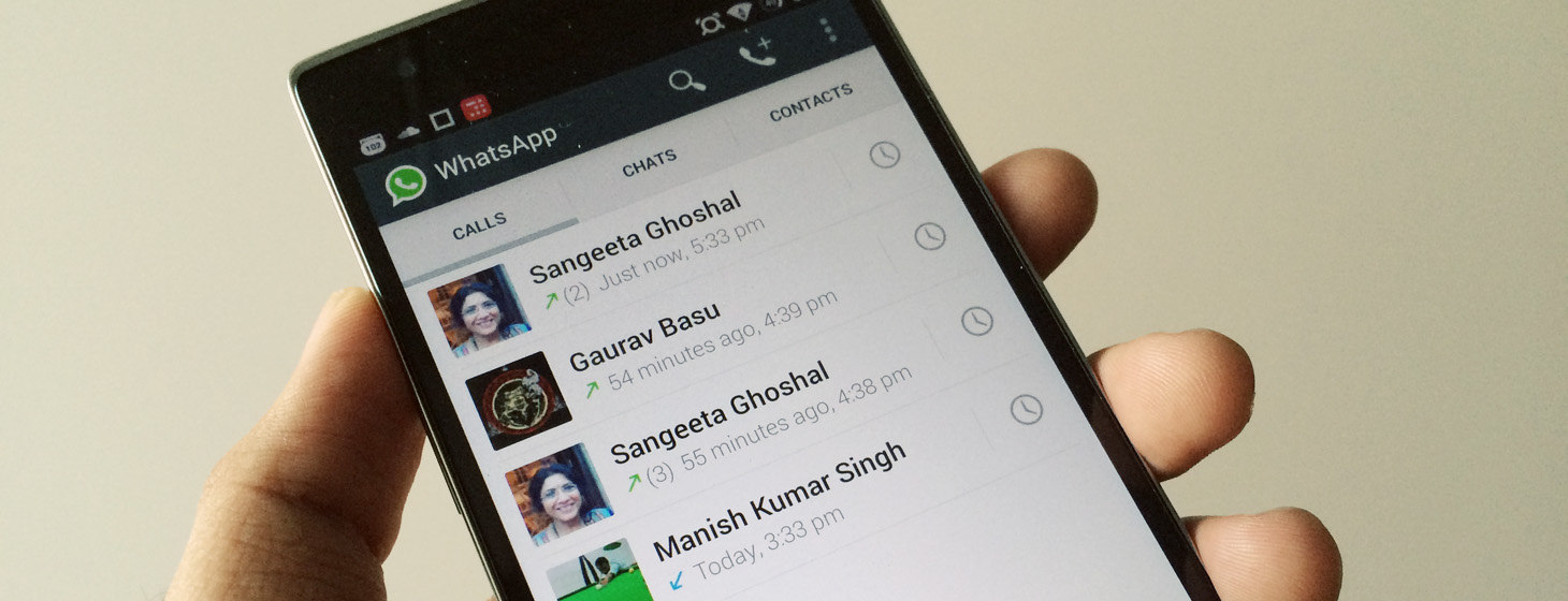 WhatsApp's Latest Android Update Enables Voice Calling for All