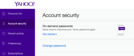 Yahoo-on-demand-passwords