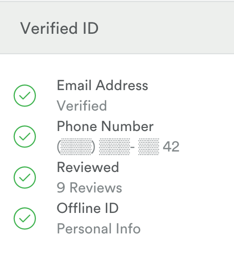 airbnb verified id