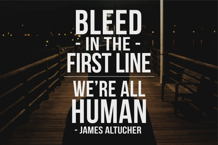 bleed-in-the-first-line