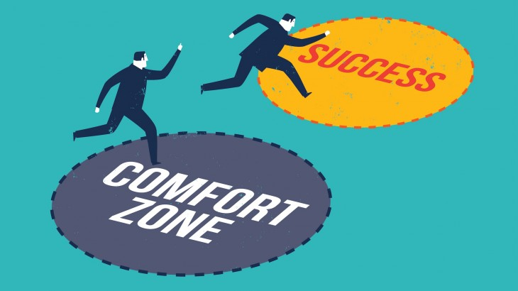 Why leaving your comfort zone can be so rewarding