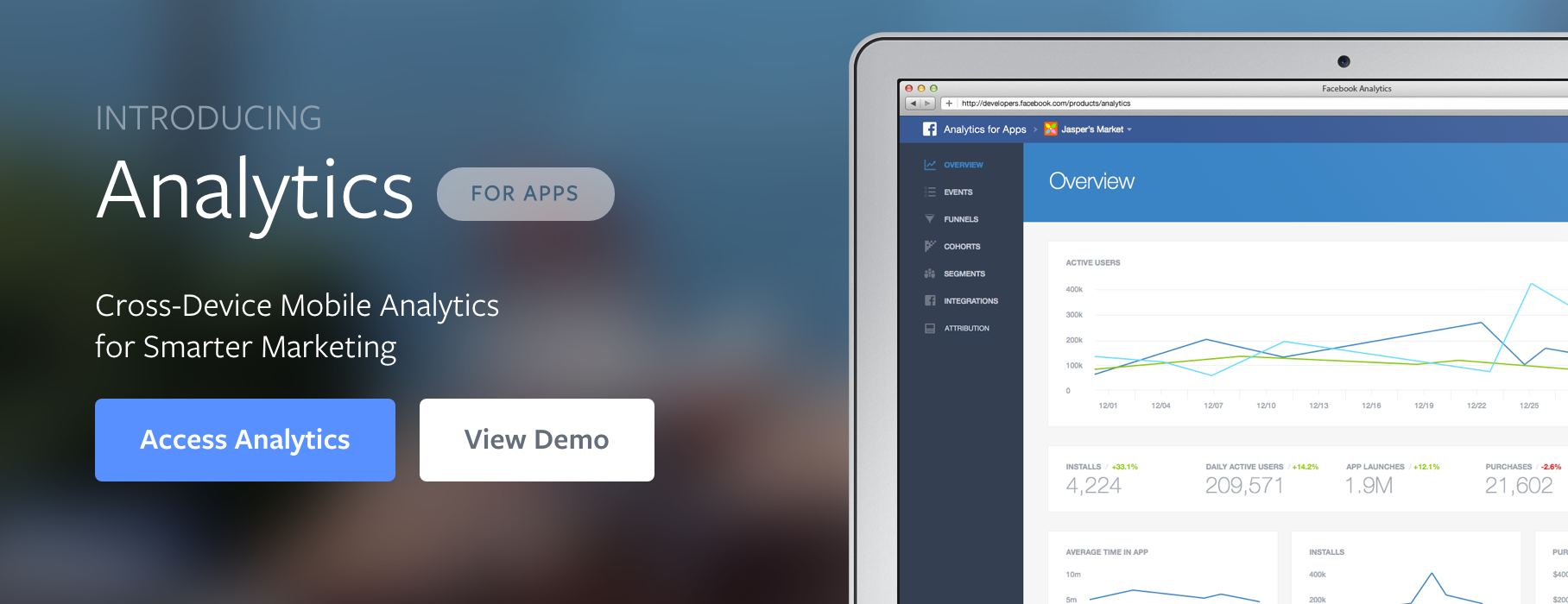 Facebook Launches a Free Analytics for Apps Tool