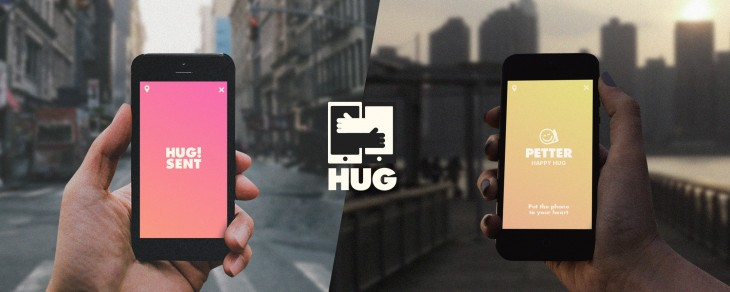 Hug for iPhone wants to replace emoji with something you can feel