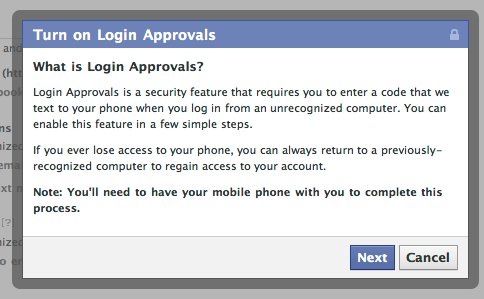 log in approvals