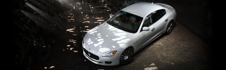 The advantages of being rich and owning a Maserati