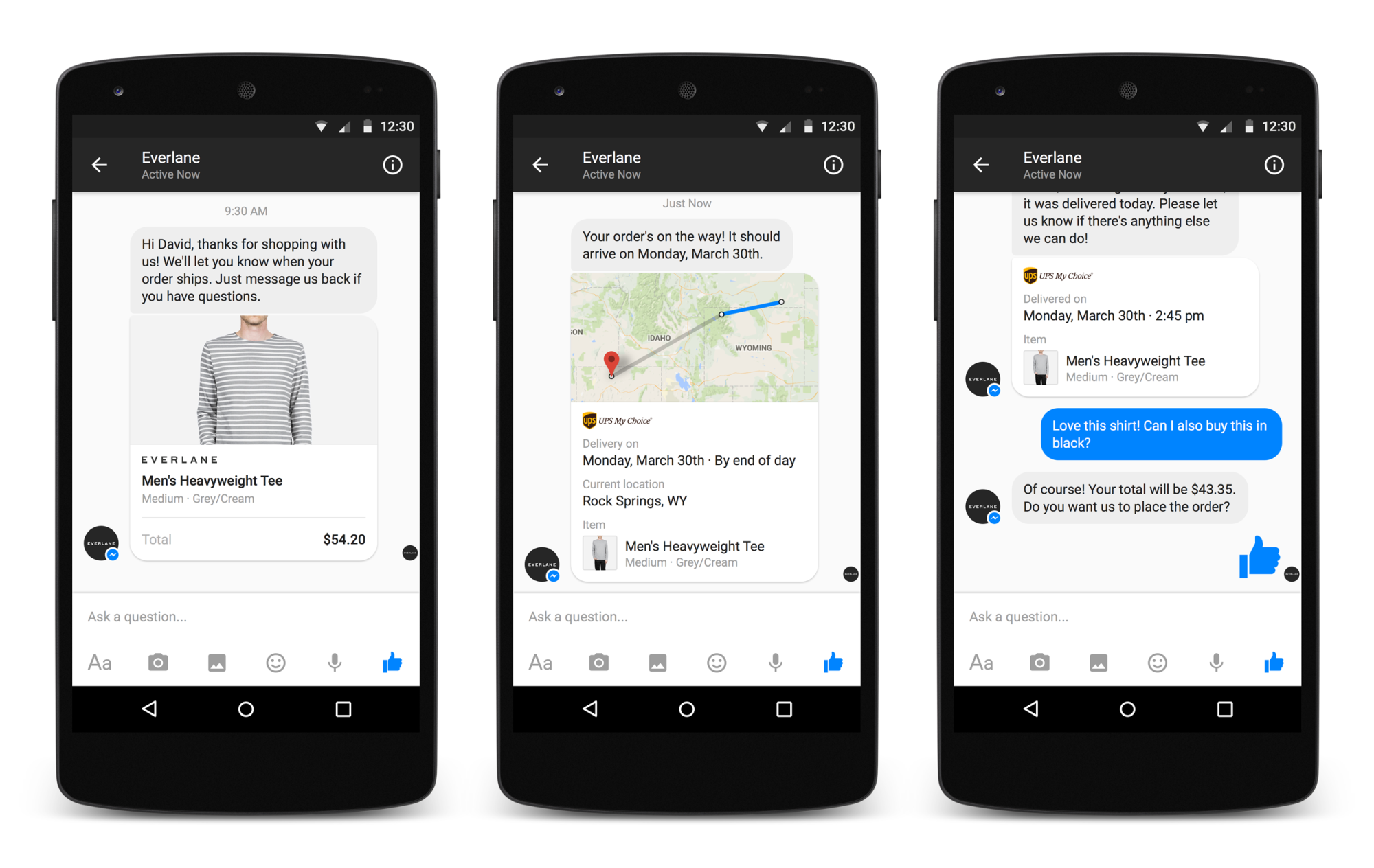 Facebook Debuts Messenger Business To Chat With Companies