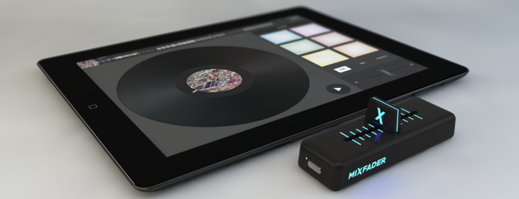 Edjing's wireless crossfader will give DJs even more control, even fewer reasons to own turntables ...