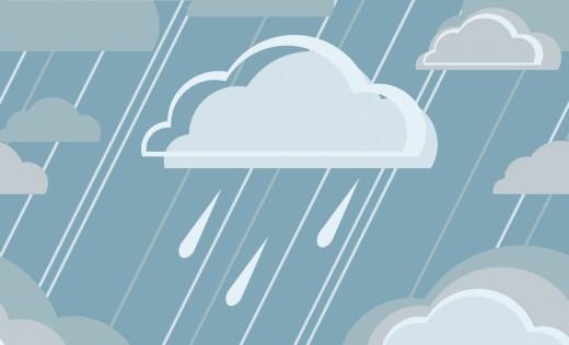 rain cloud gloomy