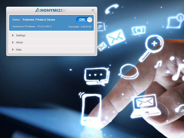 Last chance for 77% off a 3-year subscription to Anonymizer Universal VPN
