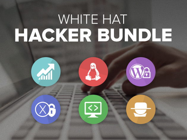 Last chance for 92% off The White Hat Hacker Bundle – ends Thursday