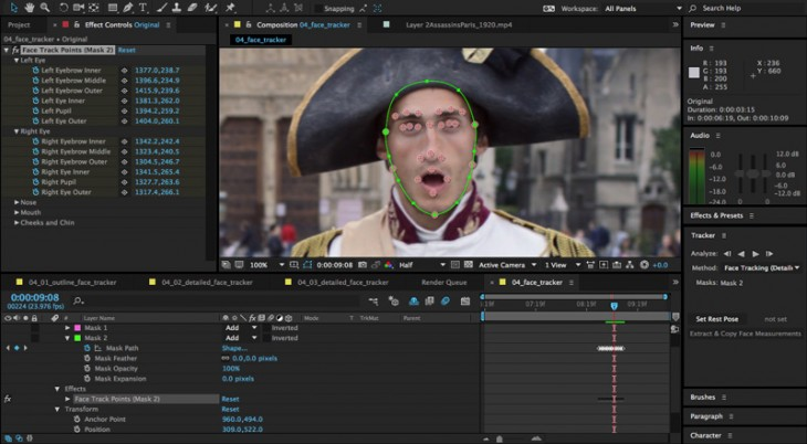 After-Effects-Face-Tracker
