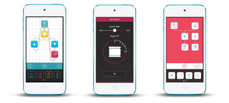Codie application screens