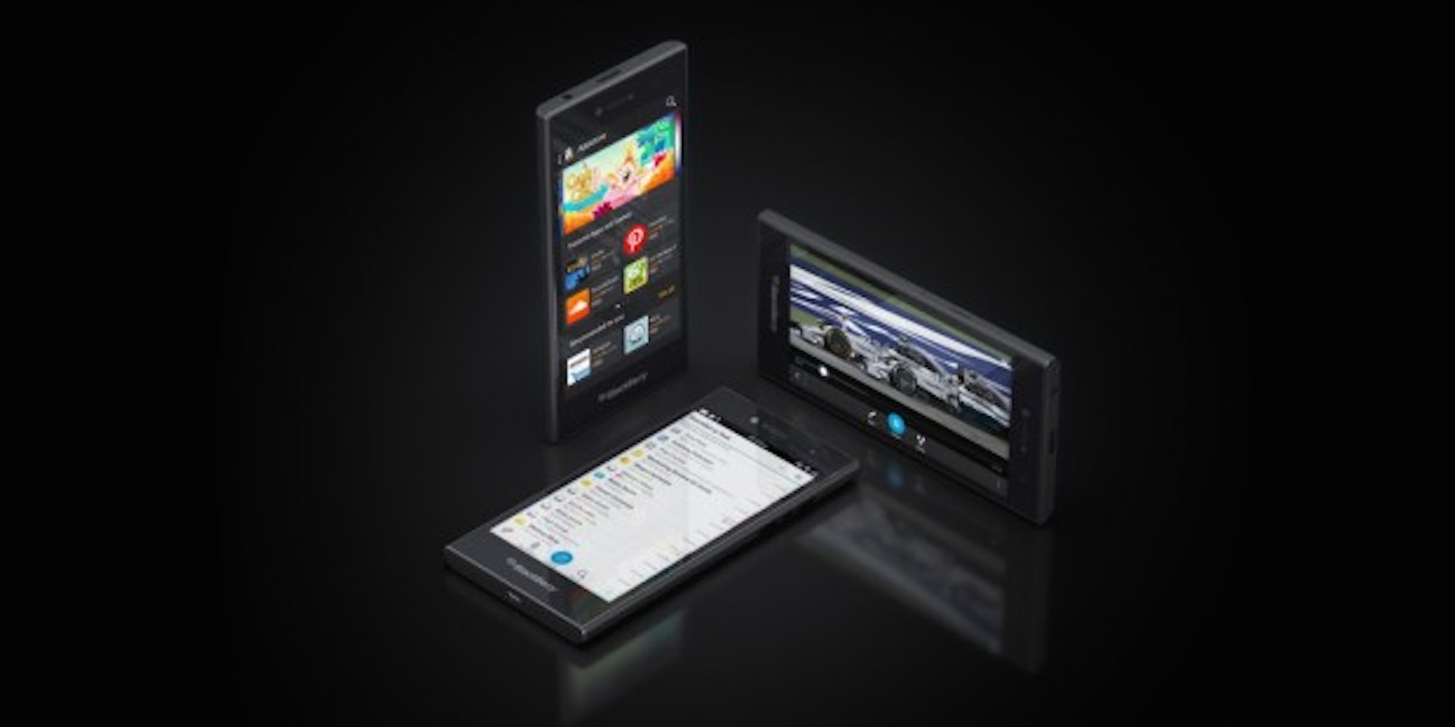 The BlackBerry Leap is now rolling out globally for 'young power professionals,' seriously ...
