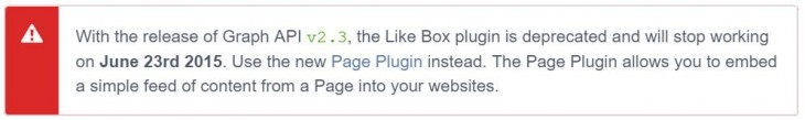 Facebook Like Box Death