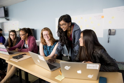 Girls Who Code, Summer Immersion Program © Jessica Scranton (3)