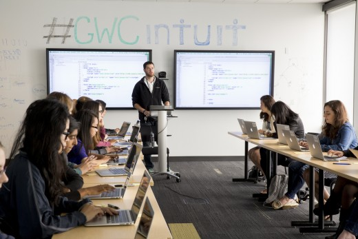 Girls Who Code, Summer Immersion Program © Jessica Scranton