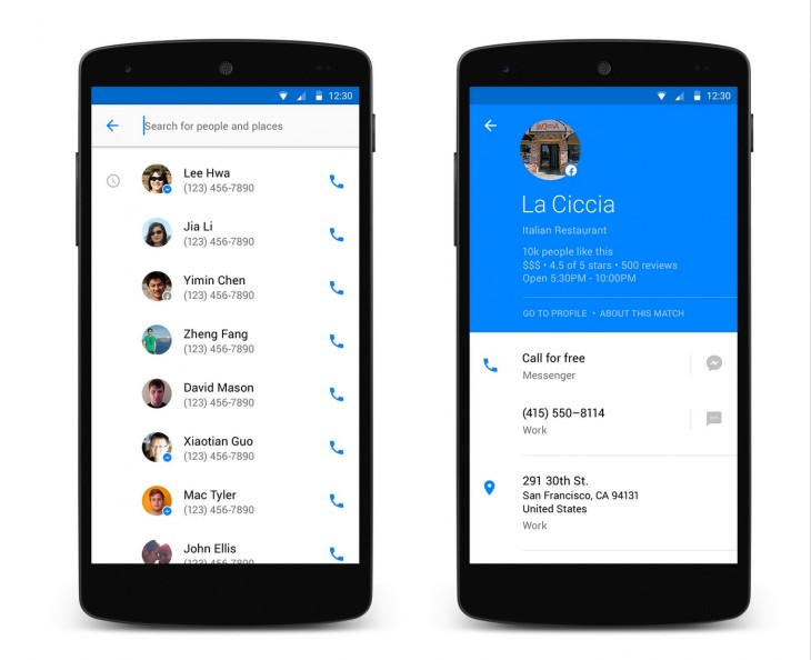 Facebook's latest attempt to 'own your phone': Its own Android dialler app