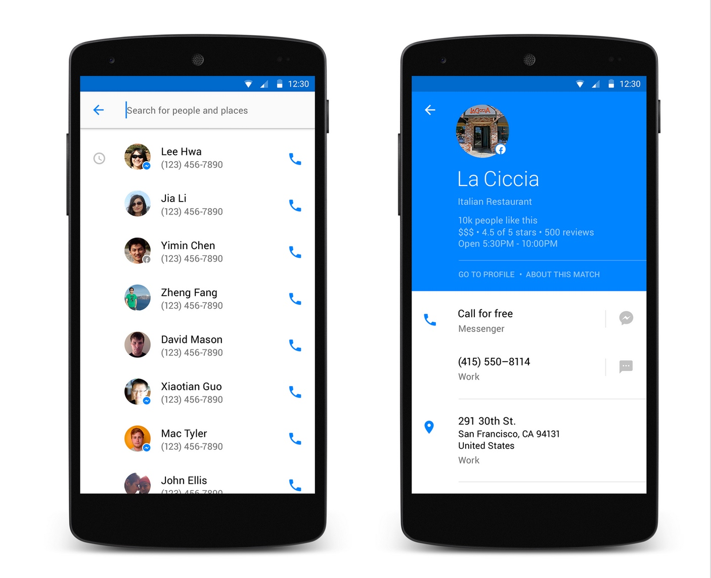 Facebook Launches Its Own Android Dialler