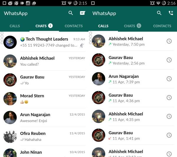 WhatsApp Home