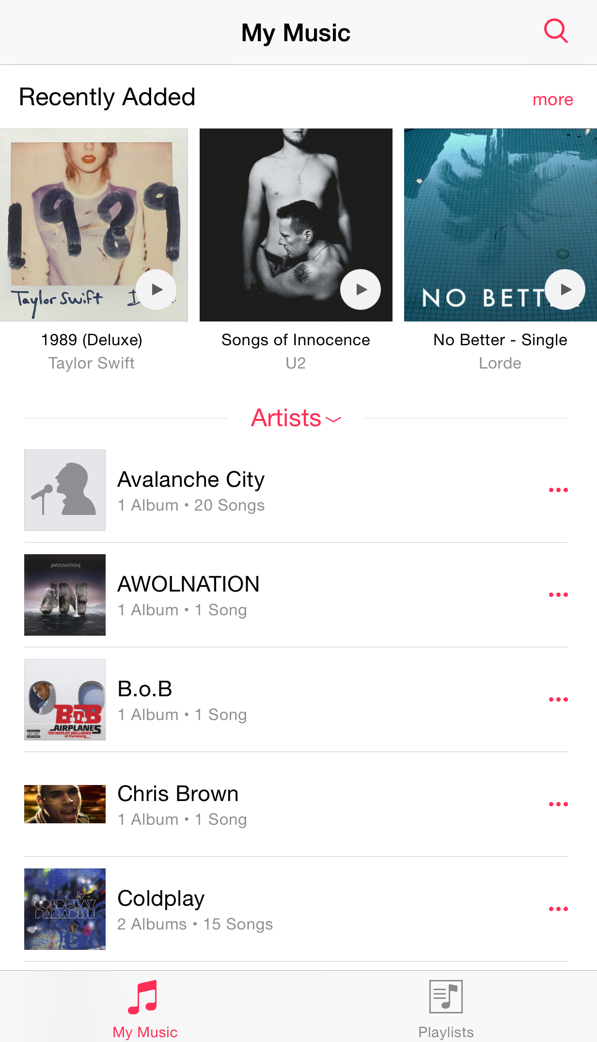 Here's Our First Look At Apple's New Music App In iOS 8 4